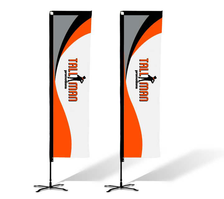 rectangle flags custom