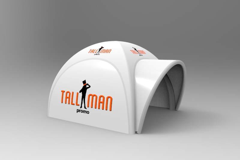 Air tight dome tent