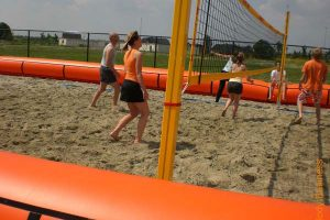 Volleyball inflatable games