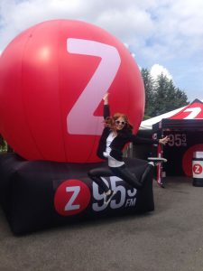 z95 inflatable sign