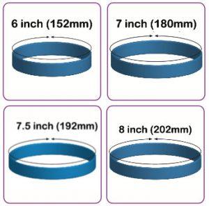 custom bracelet sizing